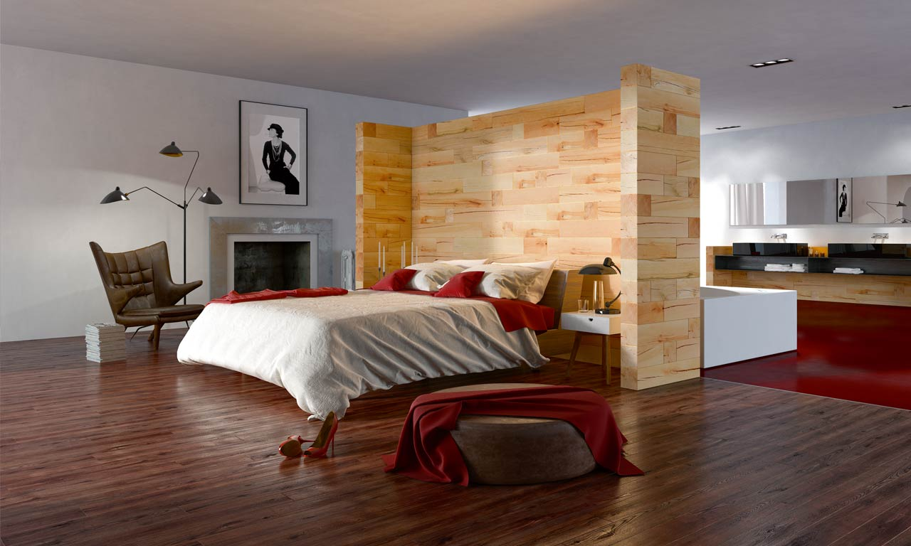 CRAFTWAND_ Raumdesign mit Holz - Amina Products