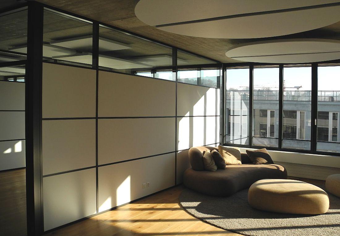 Moderne wohlfühlzonen im Bürobereich