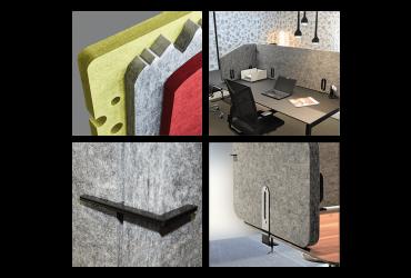SilentPET Tischaufsatz FlexWall II
